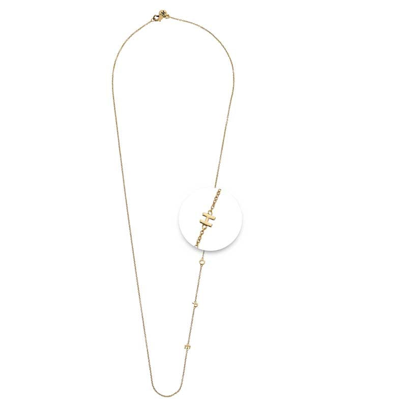 Hope Necklet Gold Plated 60cm