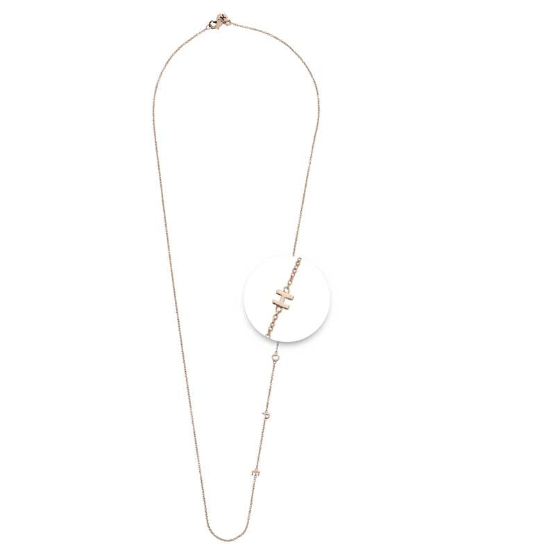 Hope Necklet Rosé Gold Plated 60cm