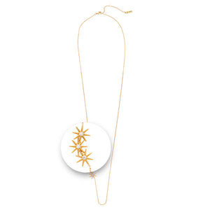 Nikki Lissoni - Collected Stars Necklet Gold Plated 70cm