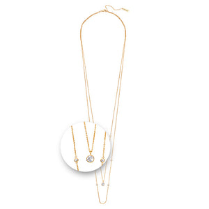 Nikki Lissoni - Layered Necklet Gold Plated
