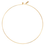 Nikki Lissoni Wire Gold Plated Choker 40cm