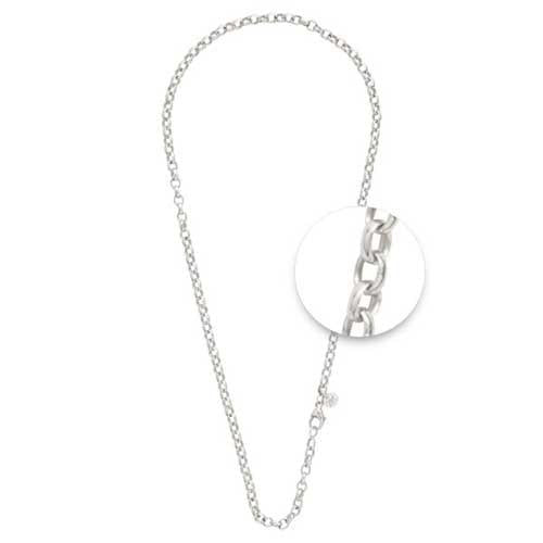 Necklet Silver Plated 4mm