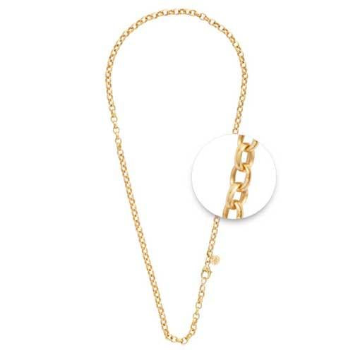 Nikki Lissoni - Necklet Gold Plate 4mm