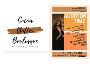 Cocoa Butter Burlesque Casting Call