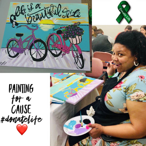 "Natalie Waterman is ""Painting For A Cause"""