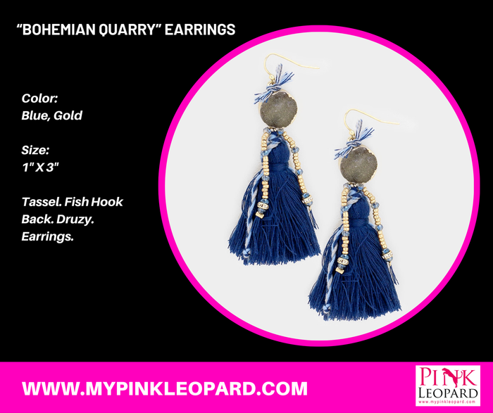 """Bohemian Quarry"" Earrings"