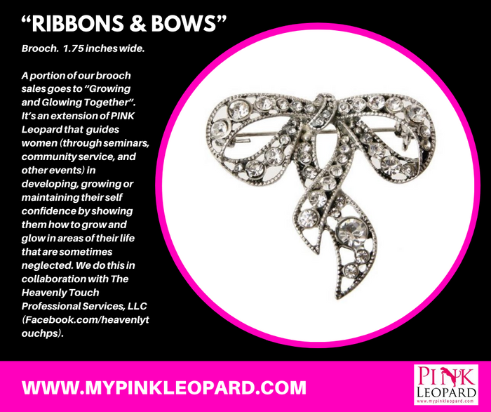 Ribbons & Bows Brooch 1