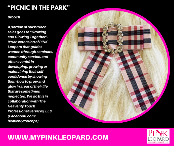 """Picnic In The Park"" Brooch"