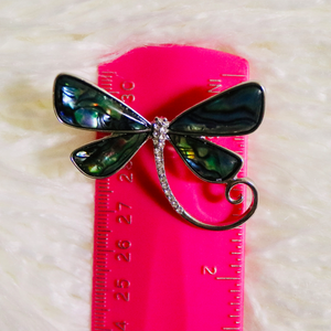 """Puff the Magic Dragonfly"" Brooch"