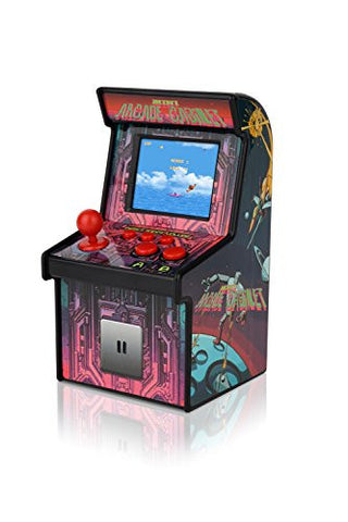 ... IWAWA Mini Retro Arcade Cabinet With 240 Video Games For Kids Travel  Portable Handheld Gaming System