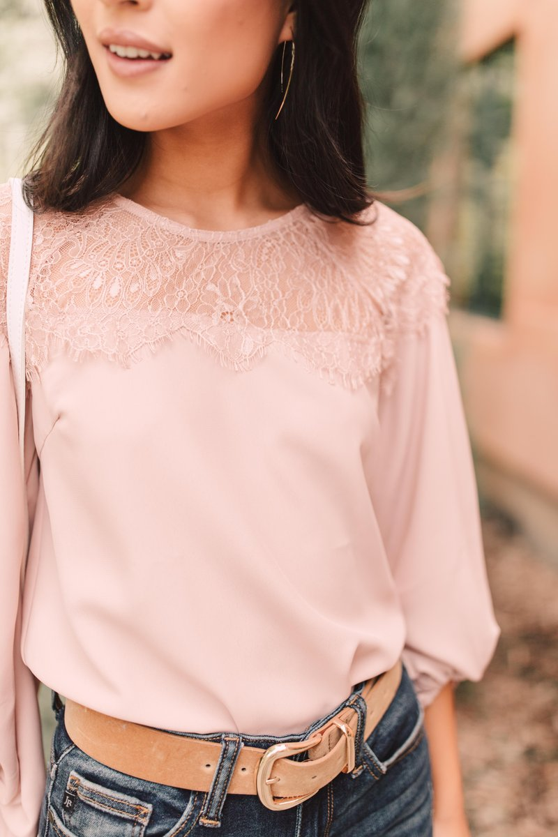 Straight Laced Blouse