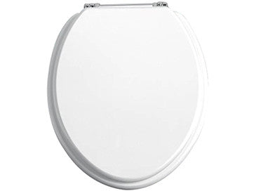 HB - Toilet Seat White / Chrome (2)