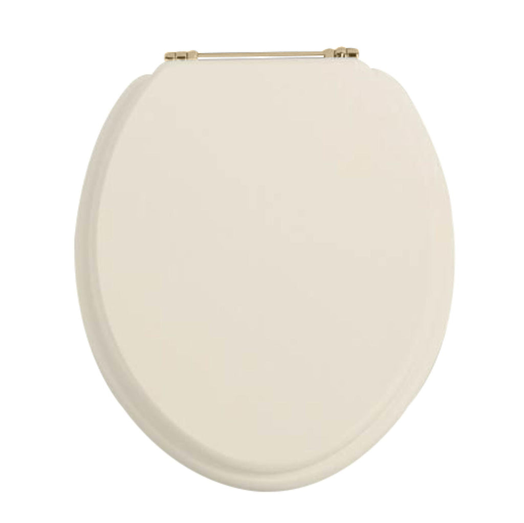 HB - Toilet Seat Cream / Gold