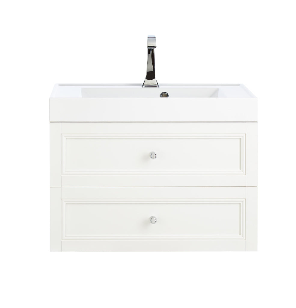 HB - Sink Vanity Draws Double White
