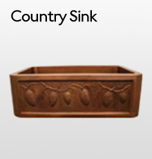 Copper Country Sink