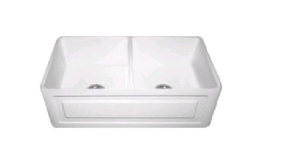 Double French Farmhouse Sink - 833 x 500 x 250mm