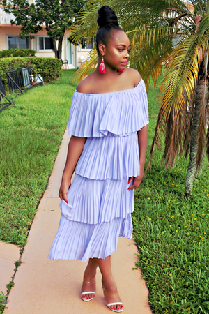 Midi Ruffle Dress