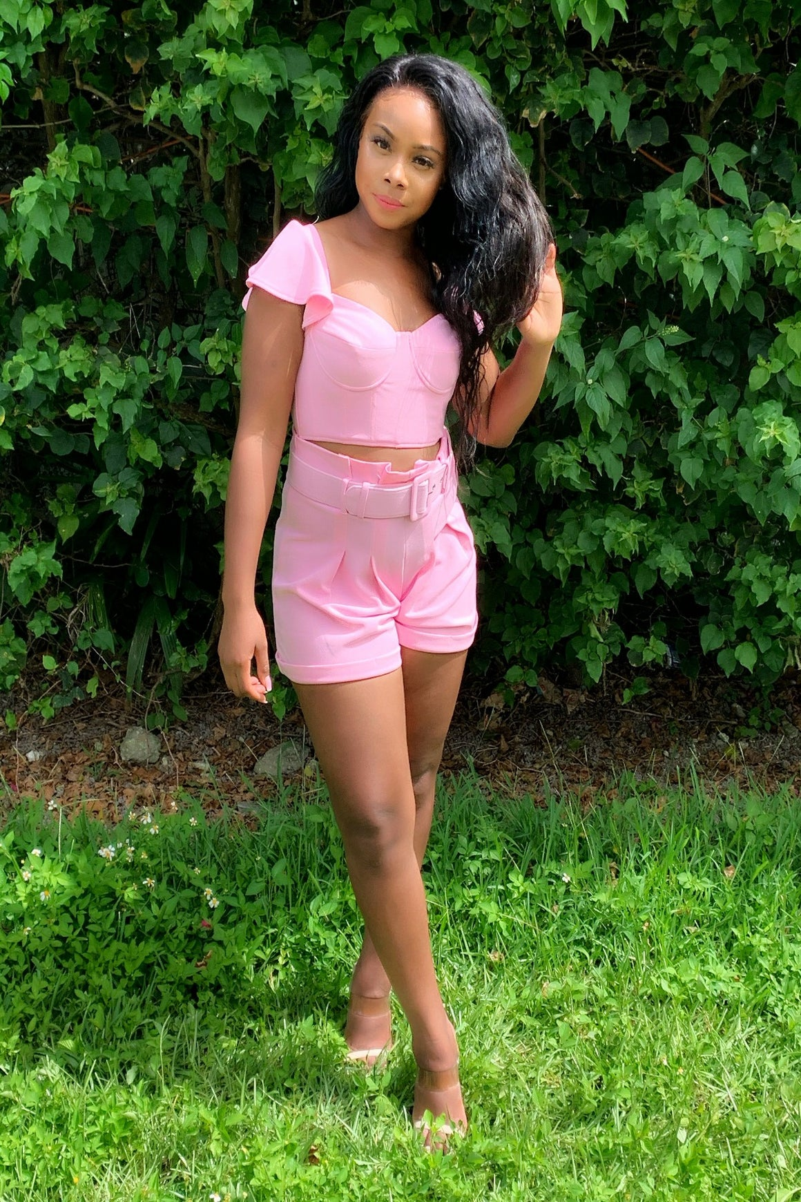 BubbleGum Short Set