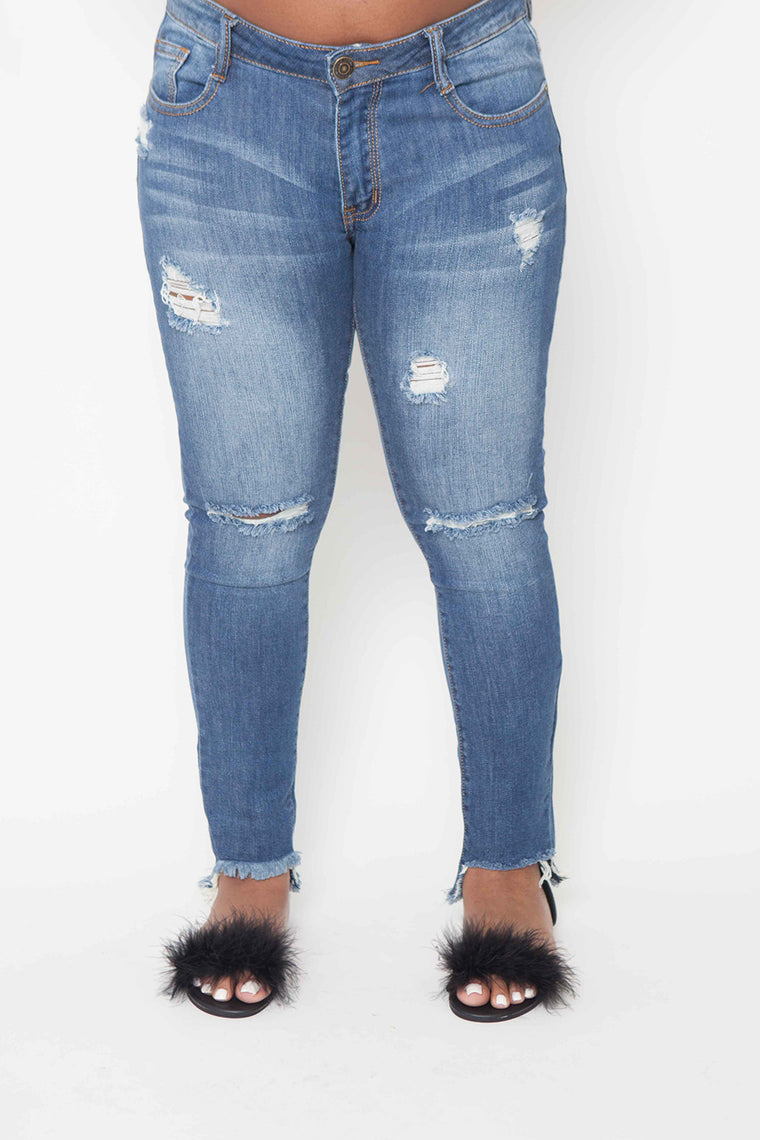 Ankle Crop Jeans