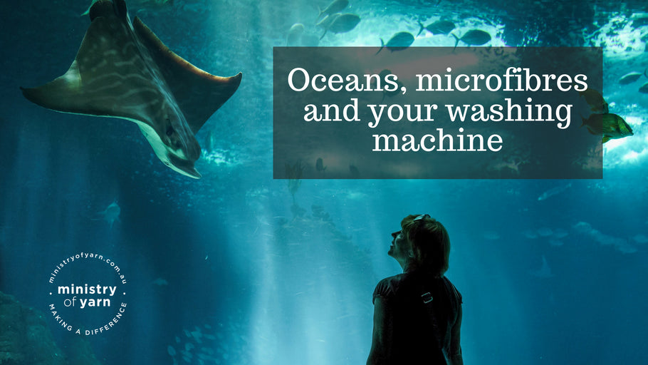 Oceans, microfibres and your washing machine
