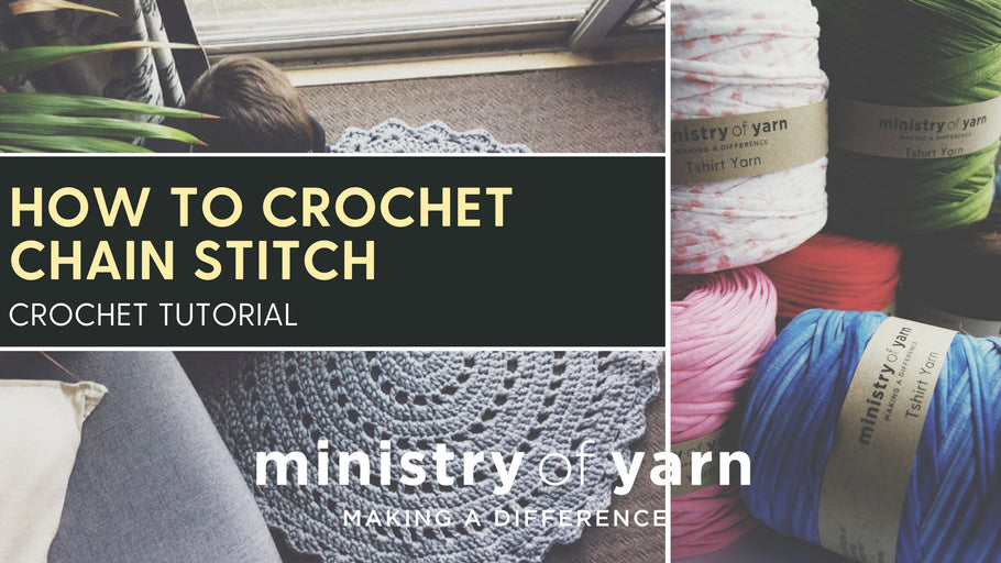 How to crochet chain stitch - video tutorial
