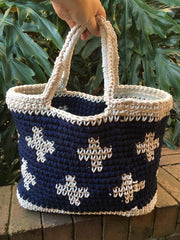 T-shirt yarn tote bag