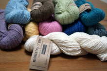 Ten colours of Socially Responsible Cotton Clouds Ecoyarn Cotton Love