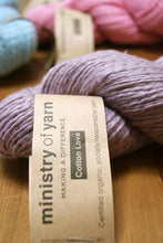 Lilac DK Knitting Crochet Australia socially responsible Fair Trade Organic cotton yarn