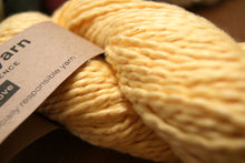 Sunny Yellow socially responsible Fair Trade Organic cotton yarn Cotton Clouds DK