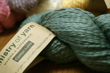 Shale Grey DK Peruvian Cotton Love socially responsible Fair Trade Organic cotton yarn