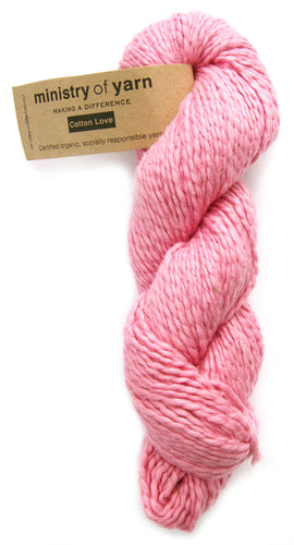 Organic Cotton Fair Trade Peruvian Pink Ministry of Yarn