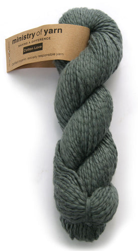 Organic Cotton Fair Trade Peruvian Shale Grey Ministry of Yarn