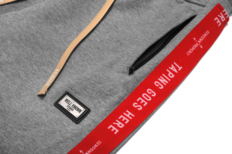Well Known Studios Madison Sweatpants - Heather