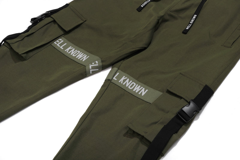 Well Known Studios Lexington Trackpants - Olive