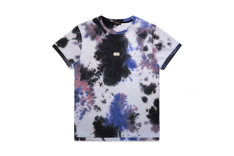 Well Known Studios Grand Tee - Indigo Tie Dye