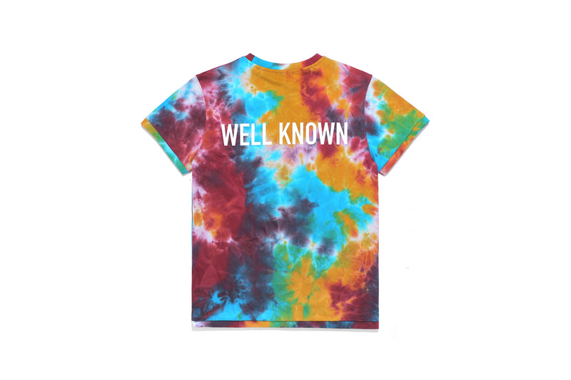Well Known Studios Grand Tee - Multi Tie Dye
