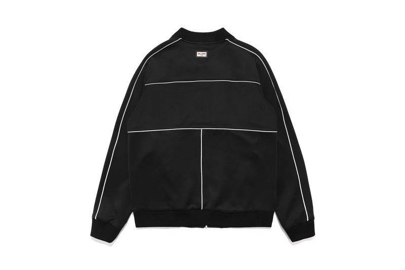 Well Known Studios Maiden Track Jacket - Black