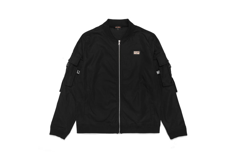 Well Known Studios Lexington Track Jacket - Black