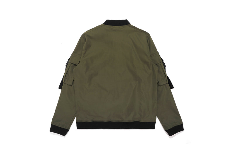 Well Known Studios Lexington Track Jacket - Olive