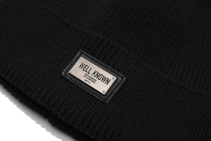 Well Known Studios Bowery Skully - Black