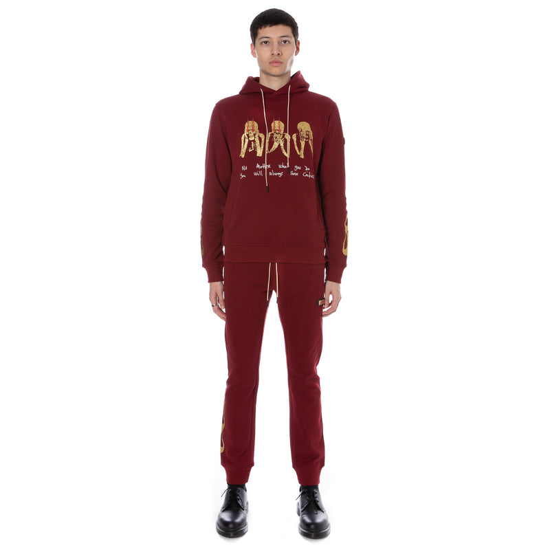 Well Known Studios Cooper Hoodie - Burgundy