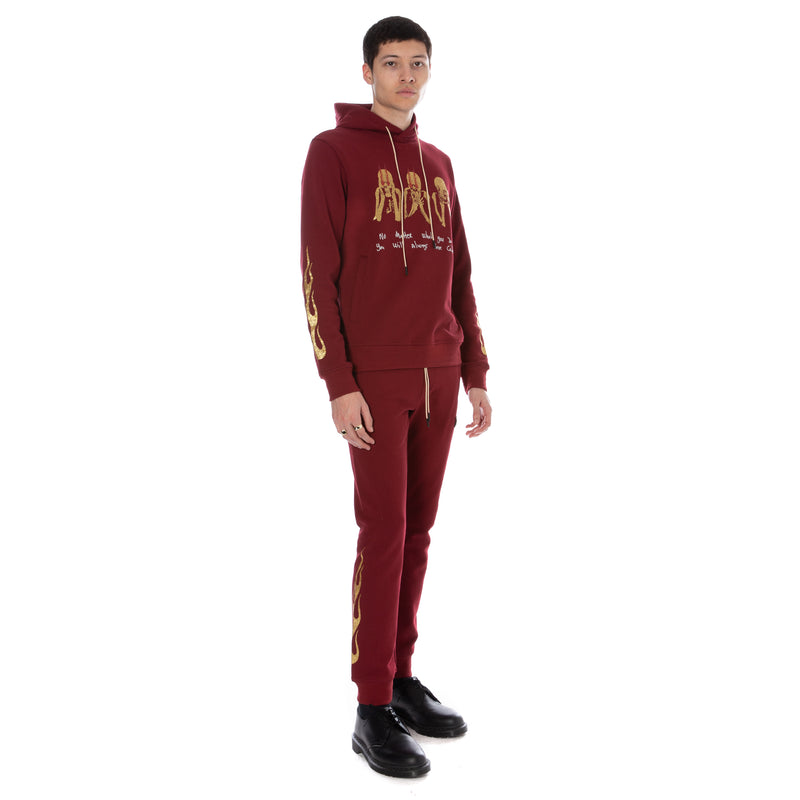 Well Known Studios Cooper Sweatpants - Burgundy