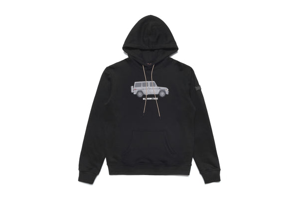 The Wk Wagon Hoody - Black