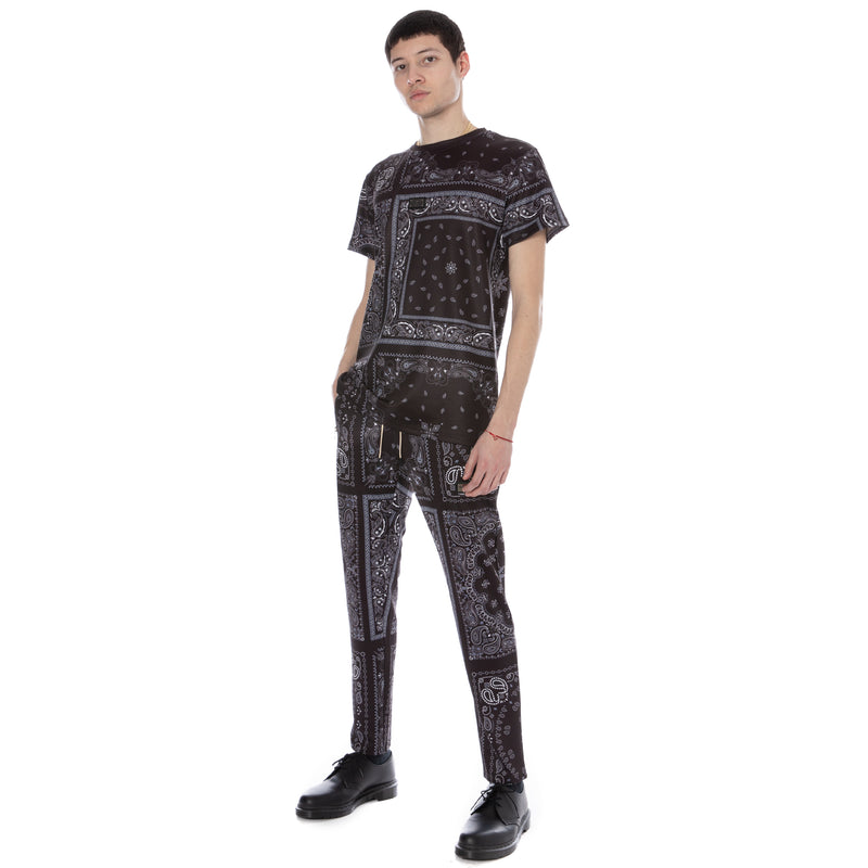 Well Known Studios Gramercy Tee - Black Paisley