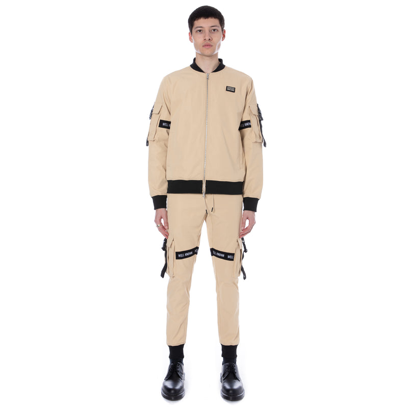Well Known Studios Lexington Trackpants - Tan