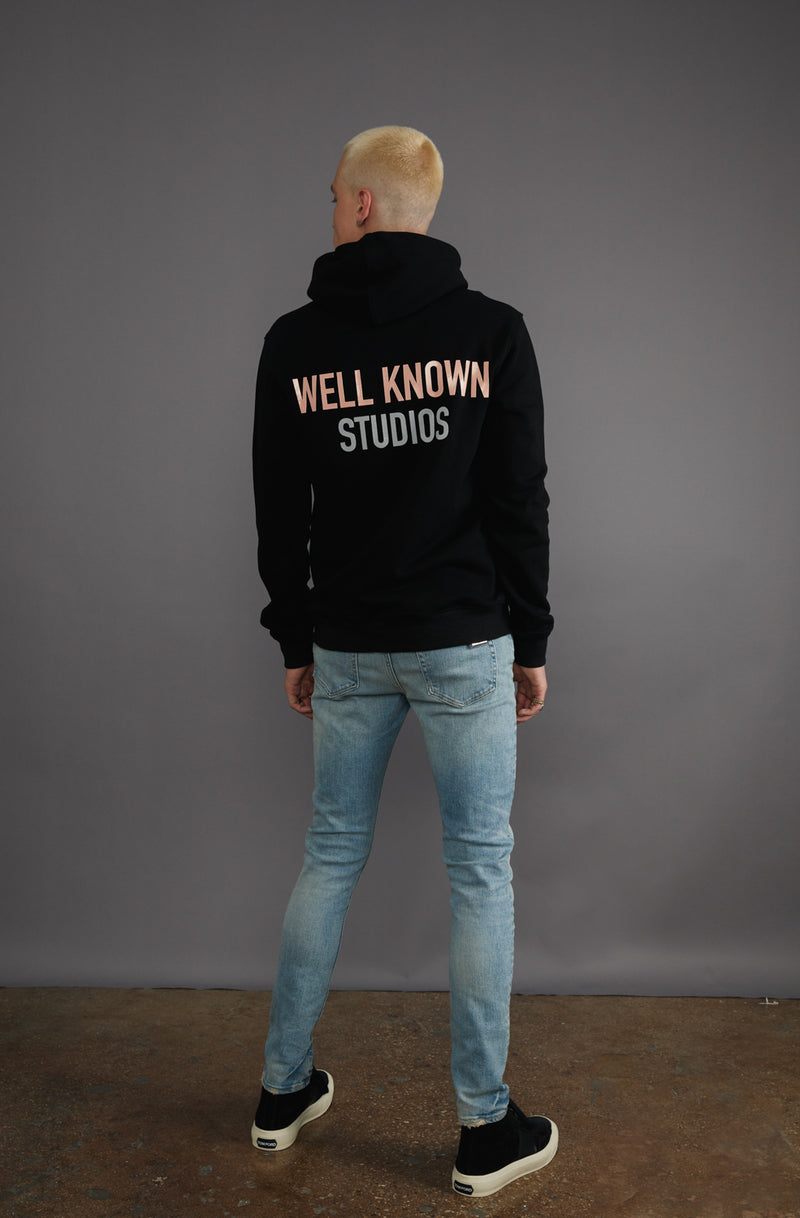 WELL KNOWN The Fifth Ave Hoody - Black
