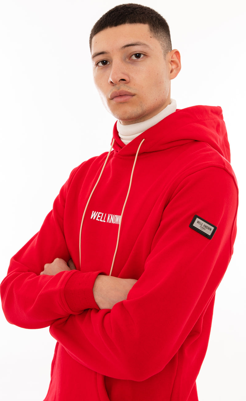 The Broome Hoody - True Red