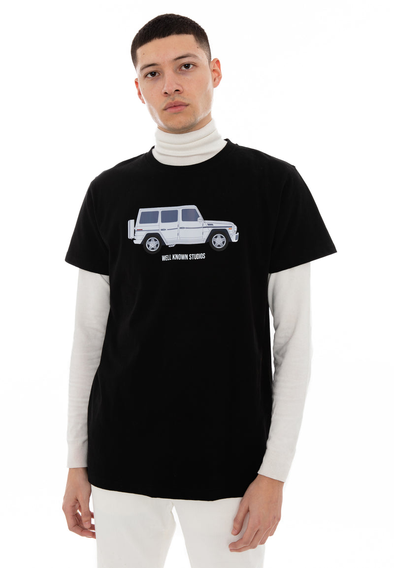 The Wk Wagon Tee - Black