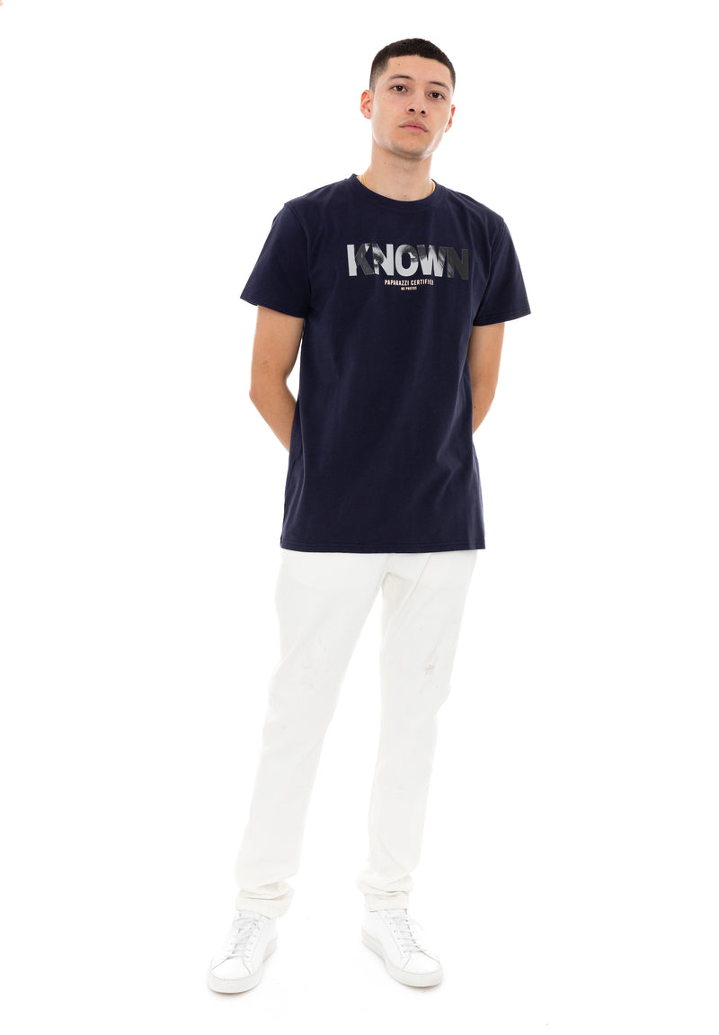 The Paparazzi Tee - Navy