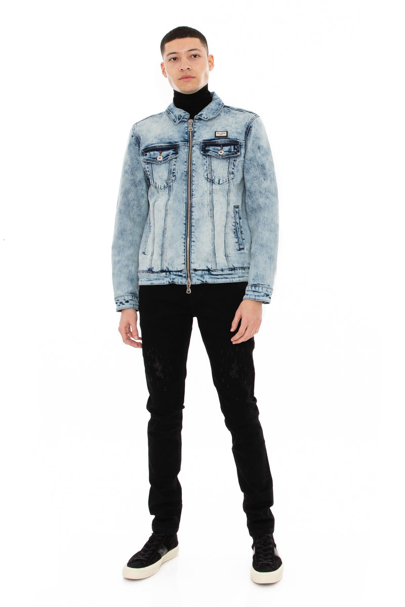 WELL KNOWN The Dean Street Denim Jean - Black Beach